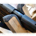 Gun cradle: 1.25 in. wide